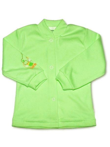 Kojenecký kabátek New Baby zelený Mimimanie.cz