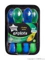 Dětské lžičky Tommee Tippee 4ks zelené a modré