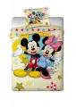 Disney povlečení ( mirkovlákno) Mickey a Minnie Jerry Fabrics Mimimanie.cz