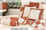 Bavlněné povlečení selského stylu Meráno