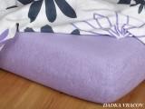 Froté prostěradlo - fialová B