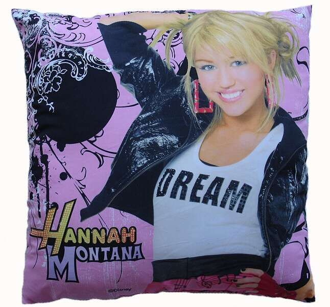 Polštářek - Hannah Montana Jerry Fabrics Mimimanie.cz