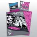 Bavněné  povlečení Monster High pink