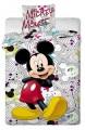 Dětské bavlněné povlečení Mickey pilot grey