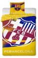 Povlečení bavlna FC Barcelona yellow