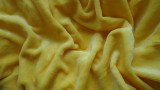 Mikroflanelové prostěradlo žluté 90x200,180x200