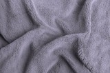 Prostěradlo z mirkoflanelu světle šedá lila