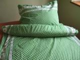 Bavlněné povlečení Kanafas zelený