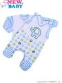 2-dílná soupravička New Baby Sloník bílo-modrá
