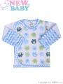 Kojenecká košilka New Baby Sloník bílo-modrá