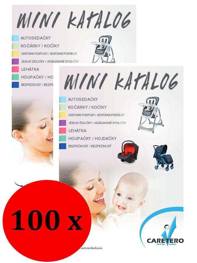 Propagační materiály Caretero balení-100 ks CARERO Mimimanie.cz