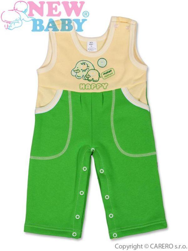 Dětské lacláčky New Baby Happy zelené Mimimanie.cz