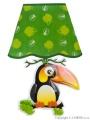 Svítící samolepící LED lampička Bayo tukan